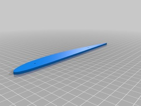 Clark Y Airfoil hot wire template