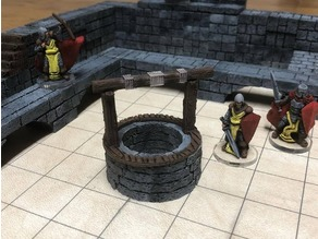 ScatterBlocks: Village Well (28mm/Heroic scale)
