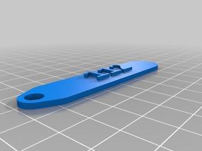 My Customized key chain tag 112