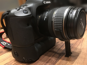 Canon EOS Lens Holder for Cameras with Battery Grip