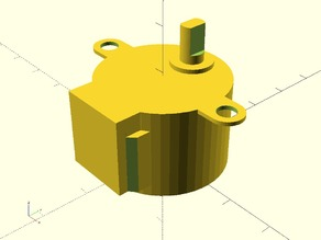 28byj 48 Stepper Motor Collection Thingiverse