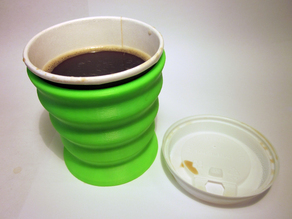 ergo coffee cup holder