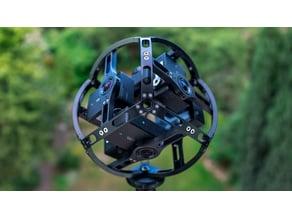 BIVROST AX6 360 camera rig