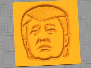 Donald Trump Plaque