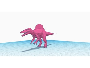Low Polly Spinosaurus