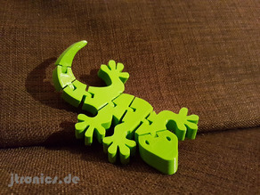 Flexi Articulated Gecko Full