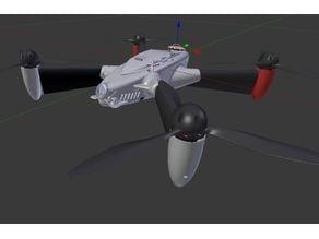 Drone profilé base DJI
