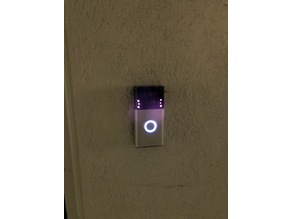 Ring doorbell adapter plate