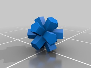 Dodecahedron Cubic Extrusion