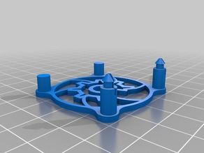 Snap in Open Hardware 40mm Fan for Flashforge Creator