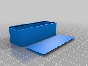 My Customized Parametric Rounded Sliding Top Box