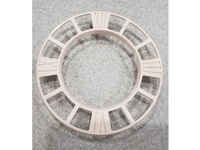 Triaxial Tourbillon Clock (smaller bed parts)