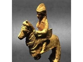 Rider statue, Jbeil