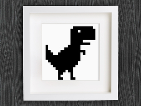 Customizable Chrome Offline T-Rex