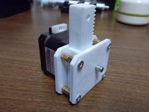 Mini actuator for NEMA17