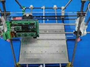 Acrylic Electronics Mount Plate