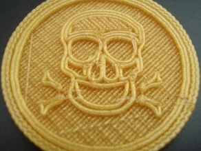 Skull and Crossbones Coin