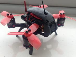 X2 ELF drone frame parts - Legs - Camera mount - Top cover