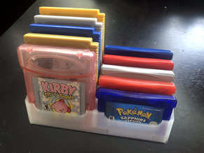 Game Boy Cartridge Tray