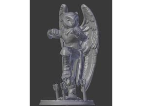 Syrinx Monk (Owlcokra) D&D Miniature