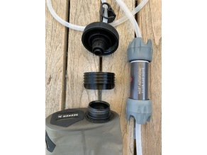 MSR AutoFlow Nalgene to HydraPak Seeker Adapter