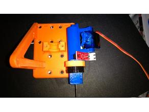 Prototype servo style 18mm automatic bed leveling system