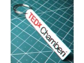 TEDx Chamberi Keychain