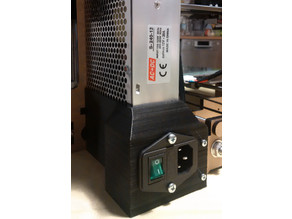 Anet A6 Power Switch