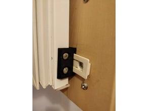 Integrated Fridge door slider replacement