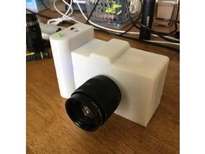 Raspberry Pi Camera Case with CS(C) Mount Lens