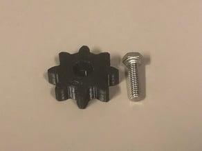Knob handles for 1/4-20 bolt