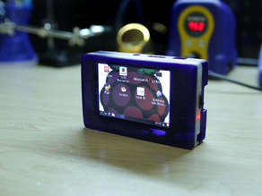 Touch Pi: Portable Raspberry Pi A+