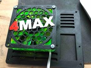 80mm Fan Grill 4Max Hex