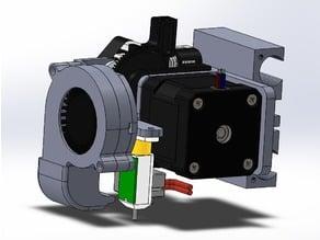Titan Aero mount + Bltouch for Prusa I2 I3 P3steel