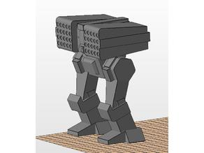Yeoman heavy support mech (Battletech boardgame)