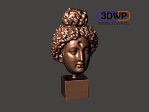 Head Of Buddha 3D Scan (Bodhisattva Sculpture)