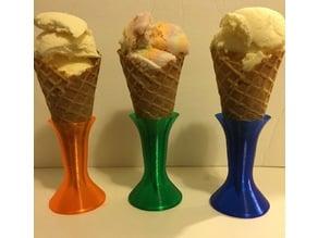 Ice cream cone holder/stand