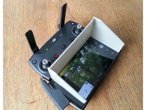 DJI Spark Sun Shield for large smartphone