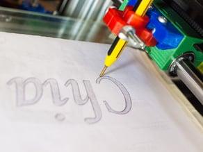 3D printer to 2D sketcher for Ormerod