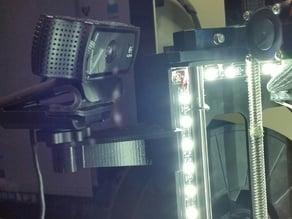 Makergear m2 webcam mount