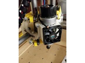 MPCNC 55mm Spindle Mount - Unibody & 60mm Fan