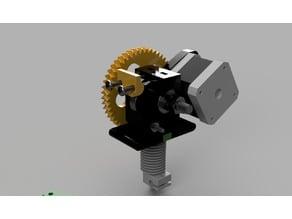 Piper3dGW extruder
