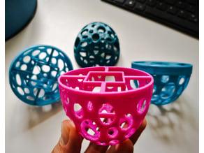 Voronoi Net Pot / Cup for Hydroponics / Aeroponics / Fogponics