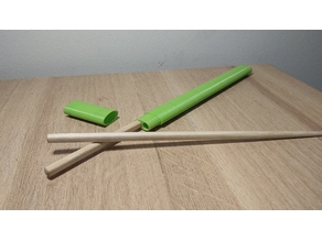 Chopstick case | Simple design | 24cm