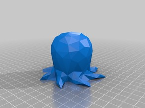 Low Poly Cute Octo