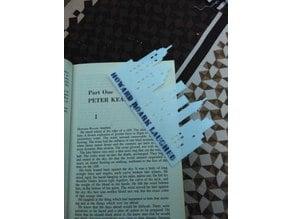 Fountainhead Bookmark