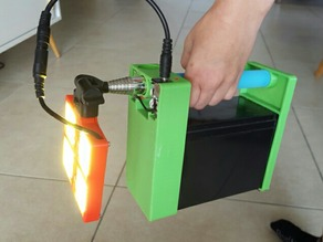 Camping portable power box