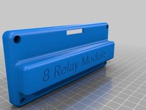 8 Relay Module Case (SainSmart/Kootek) Closed