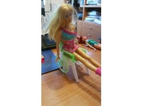 Sedia a rotelle per la Barbie / Barbie wheelchair