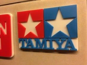 Tamiya Logo - Coloured